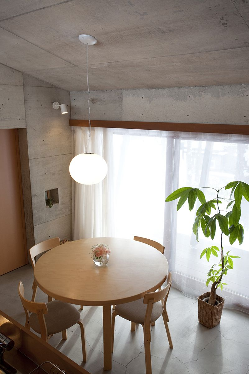 雁木のある家/リビング【照井康穂建築設計事務所】