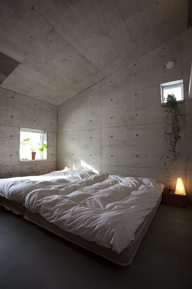 雁木のある家/寝室【照井康穂建築設計事務所】