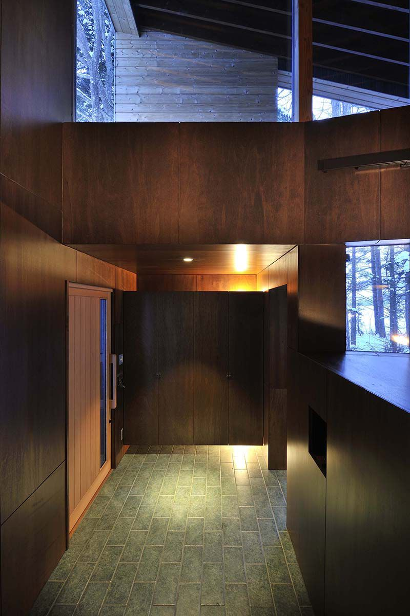 丘の家/北海道の玄関【照井康穂建築設計事務所】