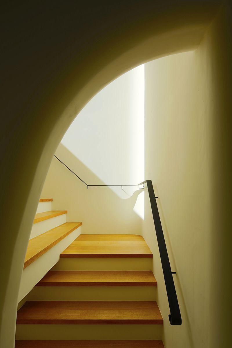 界川の家【照井康穂建築設計事務所】階段