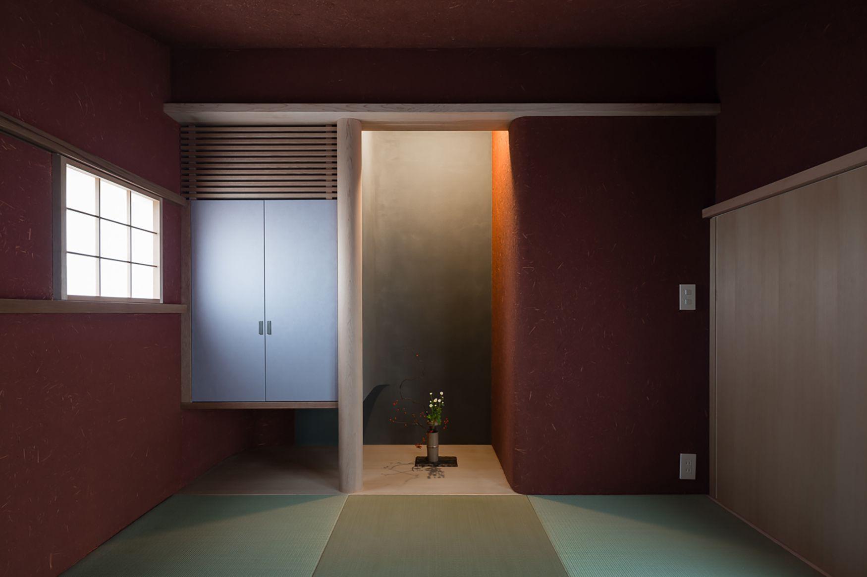 土塗の家【照井康穂建築設計事務所】和室